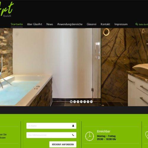 Homepage Glaser