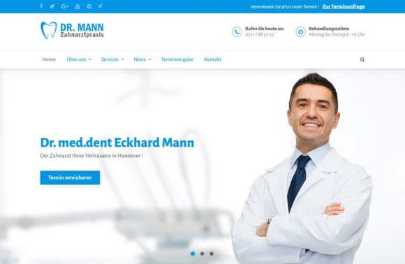 Homepage Zahnarzt