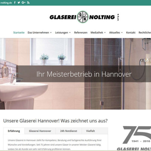 Website Glaserei