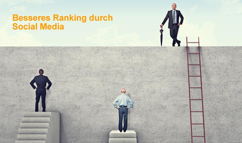 Besseres Ranking durch Social Media Aktivität