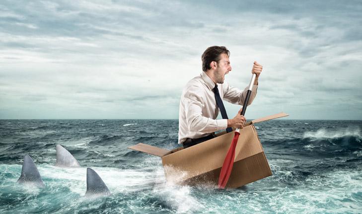 Kampf im Haifischbecken - Unternehmenssanierung, Beratung, beraten