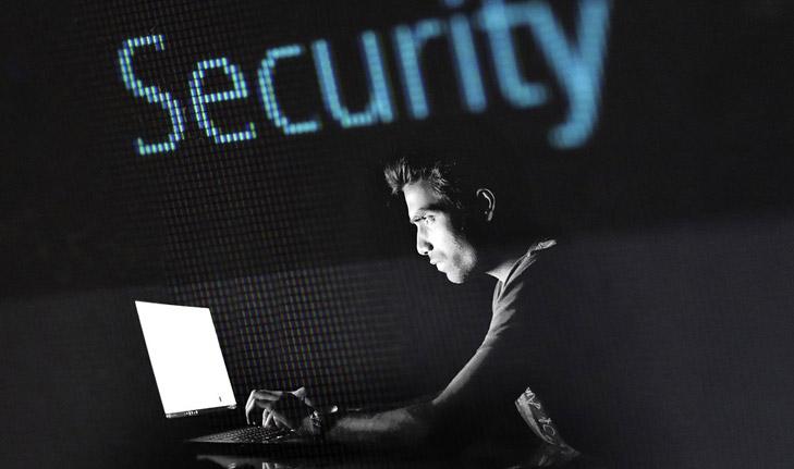 Sicherheit gegen Hacking Attacke